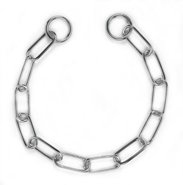 Chain Collar with Long Links (50 cm)