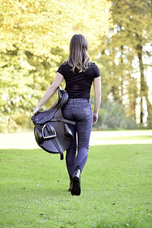 Riding Breeches Genuine Denim – Bild 6