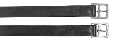 Stirrup-belt leather