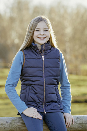 Doorstikte bodywarmer Lilly – Bild 3