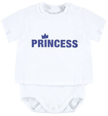 "Bellybutton® Baby Mädchen 2 in 1 Shirt-Body ""Princess"" – Bild 1"