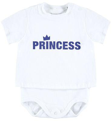 "Bellybutton® Baby Mädchen 2 in 1 Shirt-Body ""Princess"""
