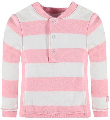 bellybutton® Baby Sweatshirt Blockringel Rose – Bild 1