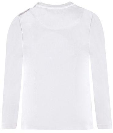 bellybutton® Baby Langarmshirt Shirt Weiß/Grau  – Bild 2