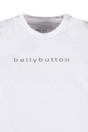 bellybutton® Baby Langarmshirt Shirt Weiß/Grau  – Bild 3