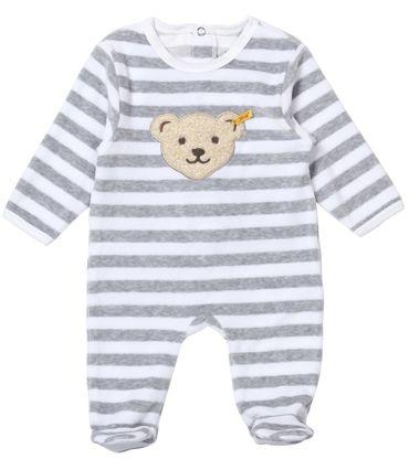 STEIFF® Nicky Strampler Schlafanzug Grau