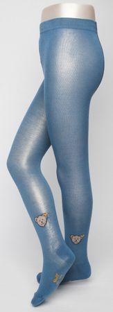 STEIFF® Teddy Strumpfhose Hose Blau Junge Mädchen