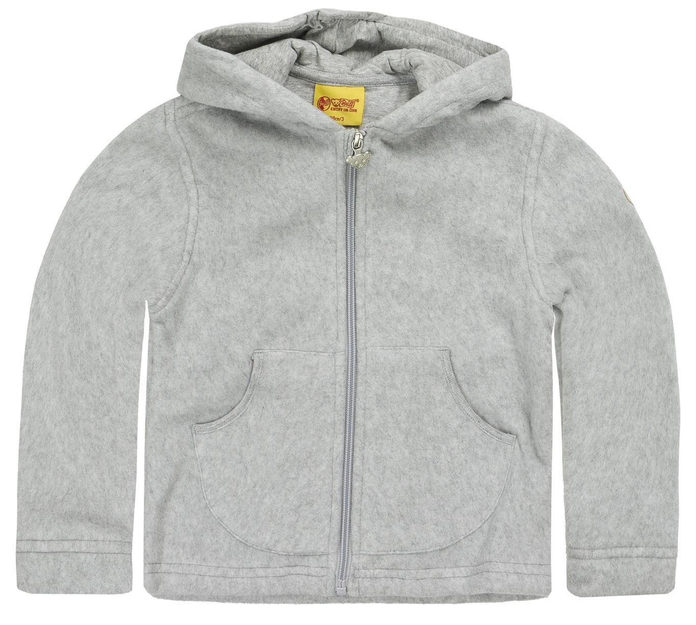 factory price 38d02 da953 STEIFF® Fleece Jacke Pullover Kapuze Grau