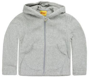 STEIFF® Fleece Jacke Pullover Kapuze Grau  – Bild 1