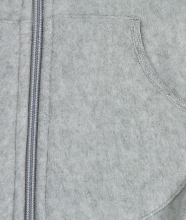 STEIFF® Fleece Jacke Pullover Kapuze Grau  – Bild 3