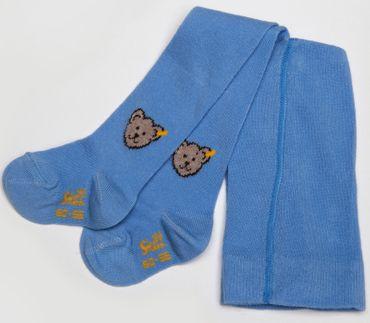 STEIFF® Teddy Strumpfhose Hose Hellblau Mädchen Junge