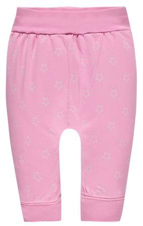 bellybutton® Baby Mädchen Jogginghose Hose Sterne Rosa  – Bild 1