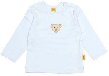 STEIFF® Baby Shirt Langarmshirt  Hellblau