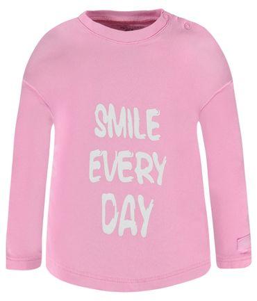 bellybutton® Baby Mädchen Langarmshirt Rosa  – Bild 1