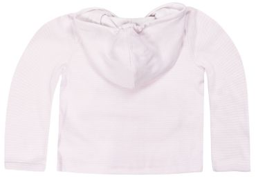 STEIFF® Baby Mädchen Jersey Sweatjacke Ringel Rosa – Bild 2