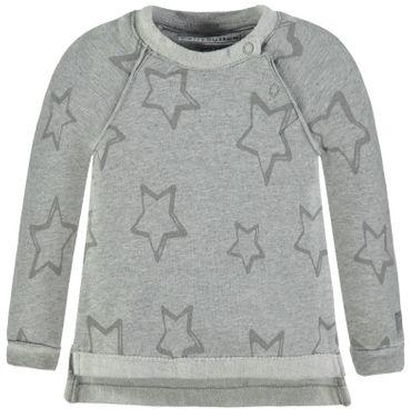 bellybutton® Baby Sweatshirt Shirt Sterne Grau  – Bild 1