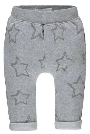 bellybutton® Baby Jogginghose Hose Sterne Grau  – Bild 1