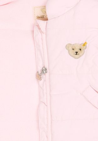 STEIFF® Mädchen Weste Rosa großer Bär  – Bild 3