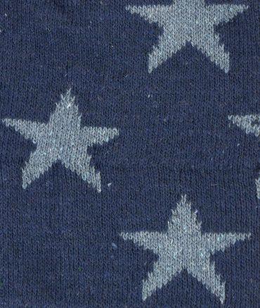 DÖLL® Jungen Strickmütze Bohomütze Sterne Blau  – Bild 3