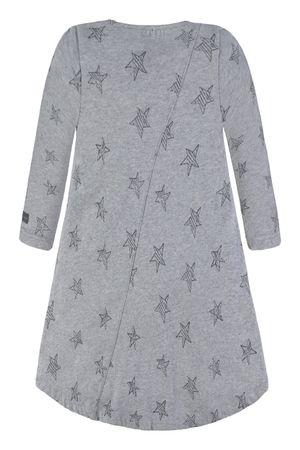 bellybutton® Mädchen Jersey Kleid Sterne Grau  – Bild 2