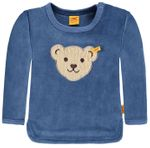 "STEIFF® Jungen Nicky Sweatshirt ""Winter Color"" Blau  001"