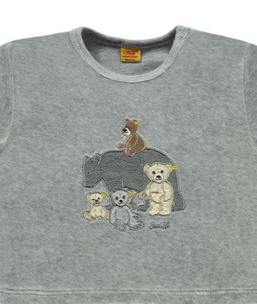 "STEIFF® Nicky Sweatshirt Bärenfamilie ""Teddy Family""  – Bild 3"