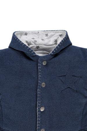 bellybutton® Baby Plüschjacke Jacke Sterne Blau – Bild 3
