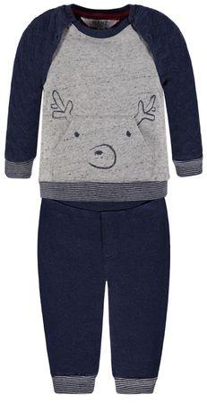 Kanz® Jungen 2 tlg. Set Sweatshirt + Jogginghose