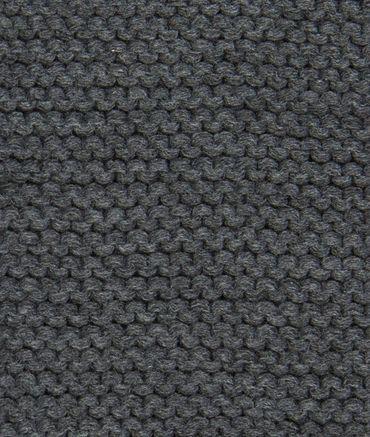 DÖLL® Loop Schlauchschal Strickschal Grau  – Bild 3