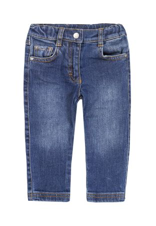 STEIFF® Basic Jeans Hose Blau Unisex – Bild 1