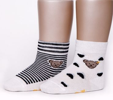 STEIFF® 2er Set Socken Summer Colors Unisex Bärchen