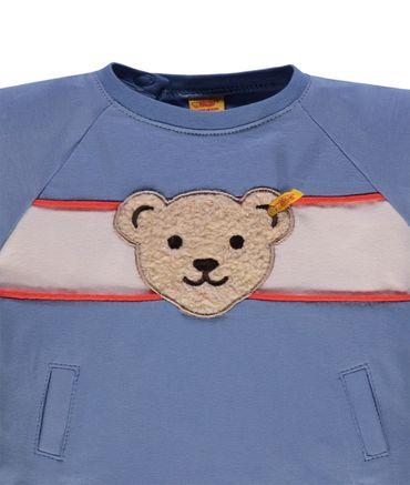 """STEIFF® Baby Jungen Sweatshirt """"College Blue"""" – Bild 3"""
