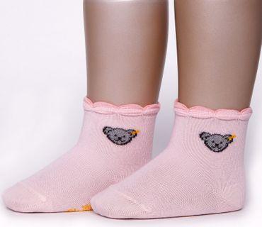 STEIFF® Mädchen Teddy-Socken Söckchen Glitzerbärchen