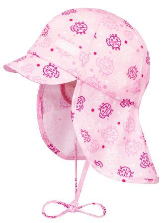 DÖLL® Baby Mädchen Sonnenhut mit Schirm Nackenschutz  – Bild 1