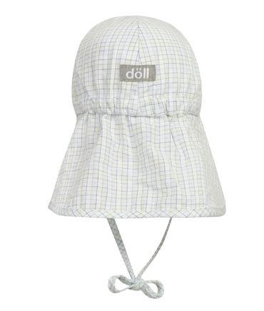 DÖLL® Baby Jungen Sonnenhut mit Schirm und Nackenschutz  – Bild 2