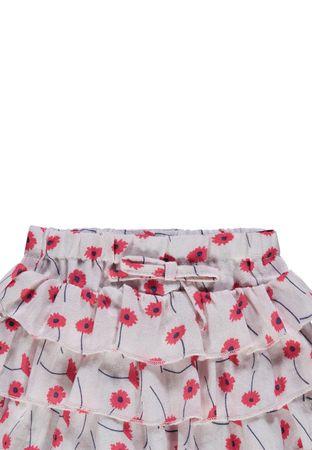 "STEIFF® Mädchen Rock Blumenprint ""Paradise Pink"" – Bild 3"