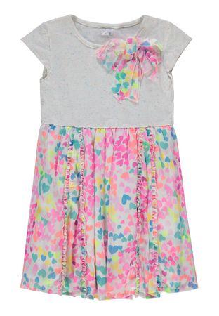 Königsmühle® Mädchen Chiffon-Kleid Herzen  – Bild 1
