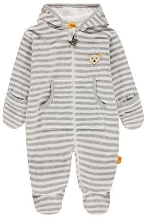 "STEIFF® Baby Nicky Overall ""Winter Grey Unisex"" – Bild 1"