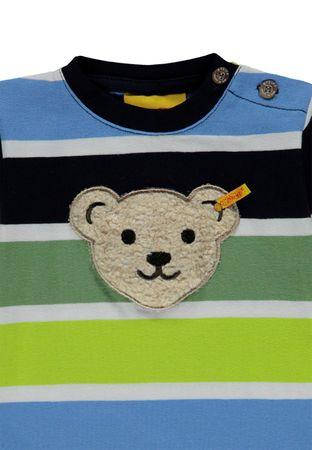 """STEIFF® Jungen T-Shirt kurzarm ''Quietsch Bär"""" """"Sporty Kids""""  – Bild 3"""