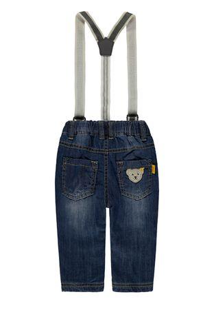 "STEIFF® Jungen Jeans Hose mit Hosenträgern ""Little Cowboys""  – Bild 2"