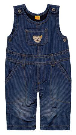 "STEIFF® Jungen gefütterte Jeans Latzhose ""Shades of Blue"""