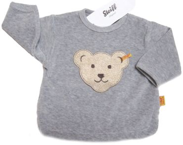 STEIFF® Baby Nicky Sweatshirt Pullover Grau