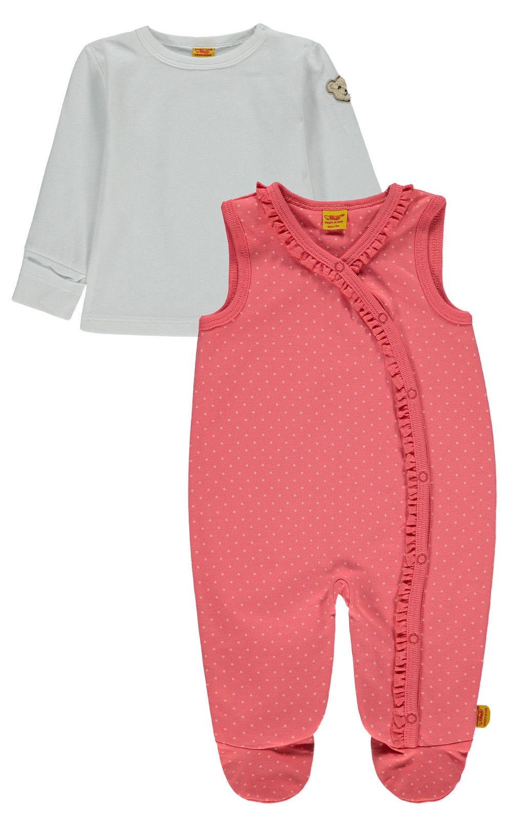 Clothing, Shoes & Accessories Steiff-strampler Gr 68 Baby Mädchen Girls' Clothing (newborn-5t)