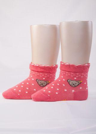 STEIFF® Mädchen Socken Pünktchen