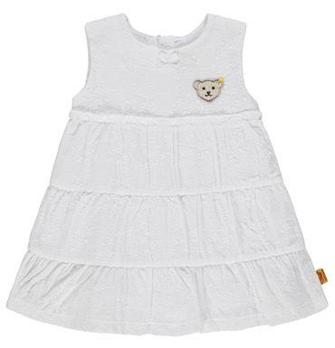 """STEIFF® Mädchen Kleid Lochstickerei Weiß """"Confetti""""  – Bild 1"""