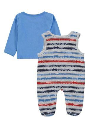Märklin by Kanz® Baby Jungen Jersey Strampler mit Shirt  – Bild 2