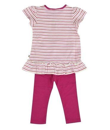 "Kanz® Baby Set Tunika und Leggings ""Wonneproppen"" Pink  – Bild 2"