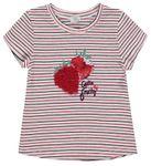 Königsmühle® Mädchen T-Shirt Erdbeere Ringel