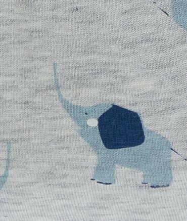 DÖLL® Baby Jungen Ballon-Bindemütze mit Shirm Elefant  – Bild 2