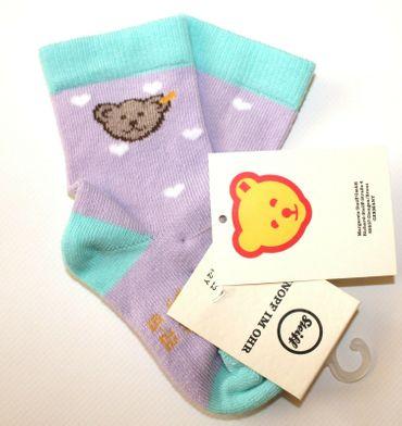 STEIFF® Mädchen Socken Söckchen Herzen
